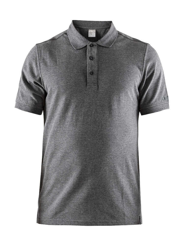 1905800 Casual Polo Pique M i 999000-Black