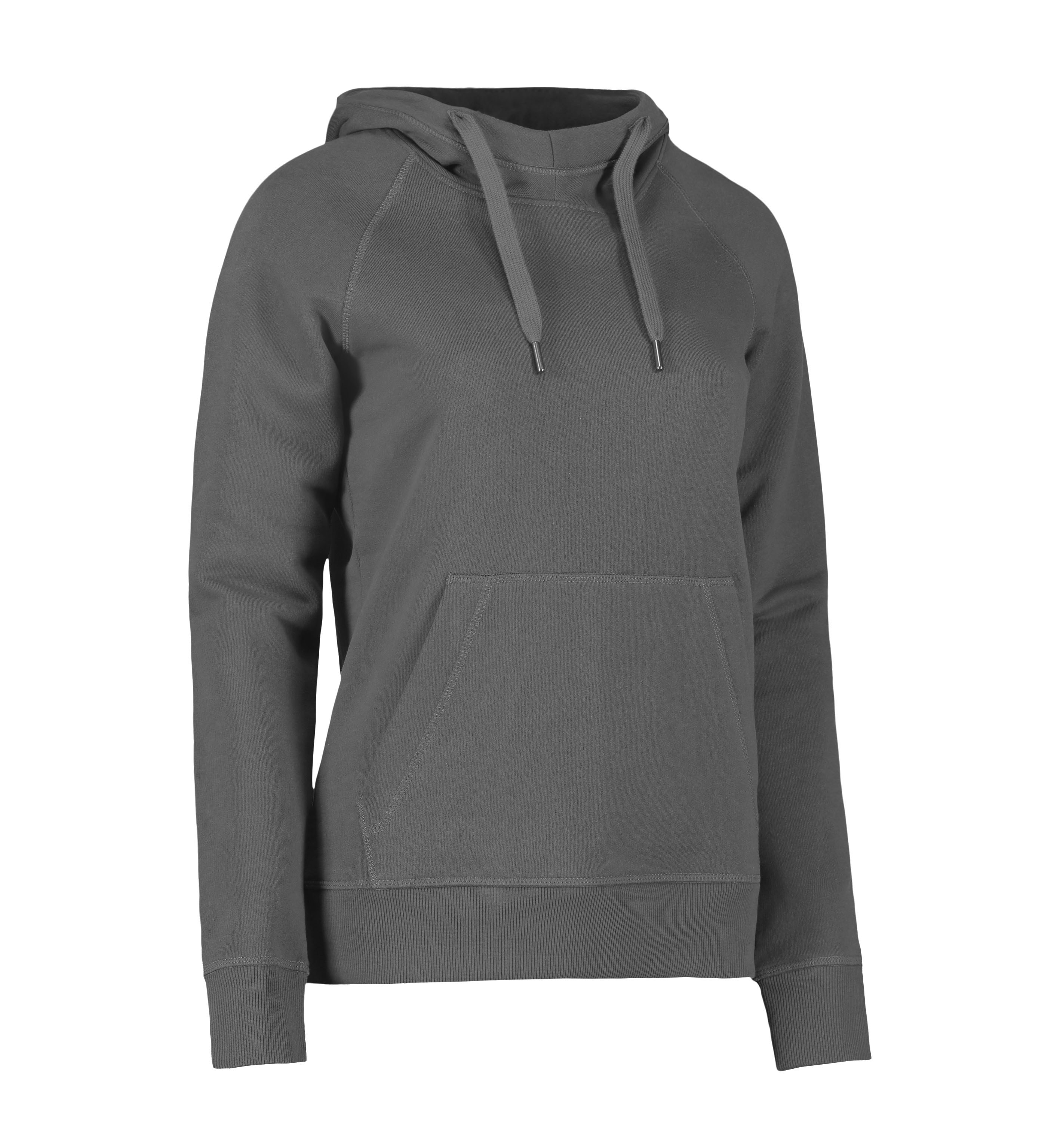 0637 CORE hoodie | dame i Silver grey