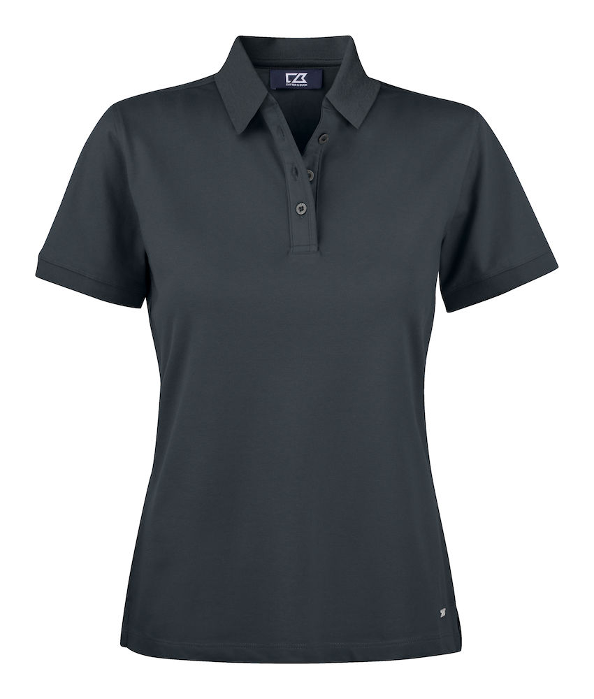 354427 Oceanside Polo Ladies i 99-Black