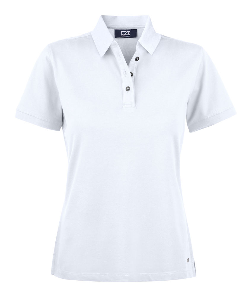 354427 Oceanside Polo Ladies i 00-White