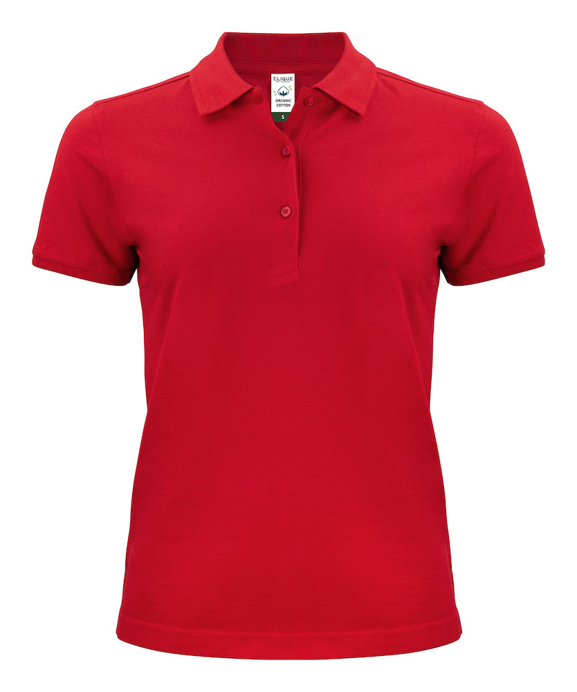028265 Classic OC Polo Ladies i 35-Red