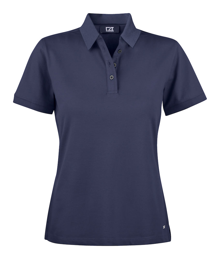 354427 Oceanside Polo Ladies i 580-Dark Navy
