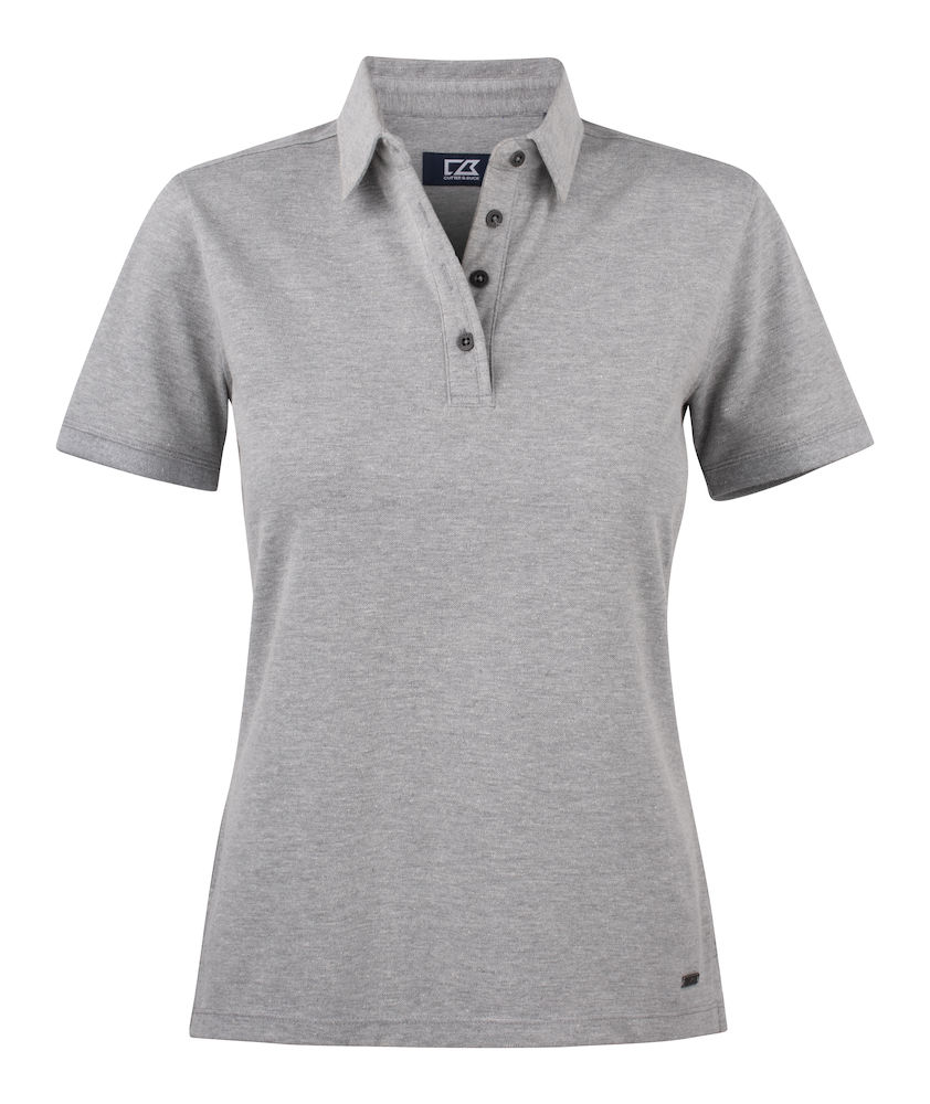 354427 Oceanside Polo Ladies i 95-Greymelange