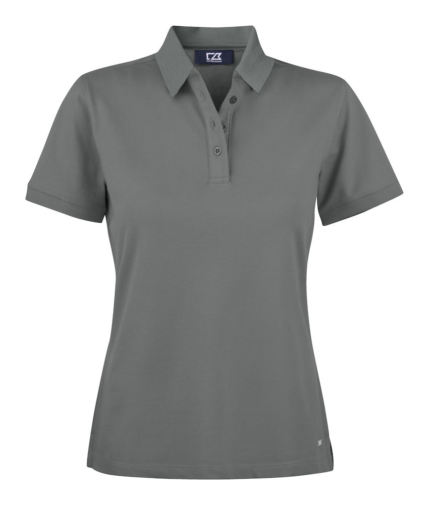 354427 Oceanside Polo Ladies i 90-Grey