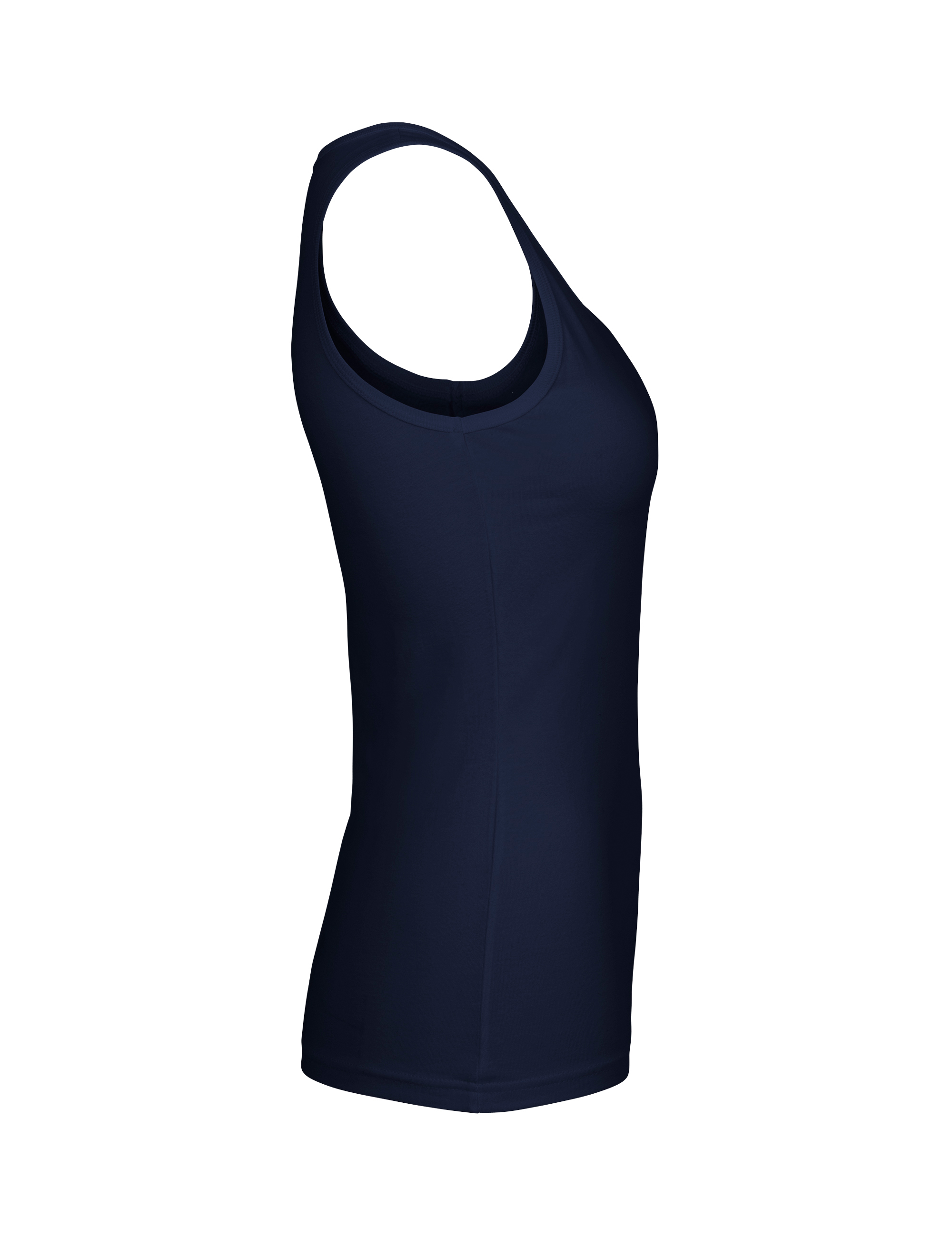 O81300 Ladies Tank Top i Navy