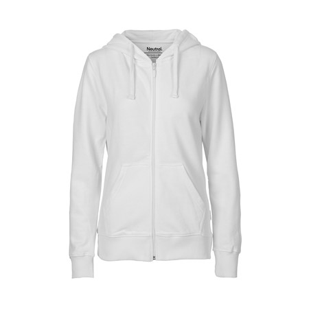Hættecardigans -  Ladies Hoodie w. Zip fra Neutral