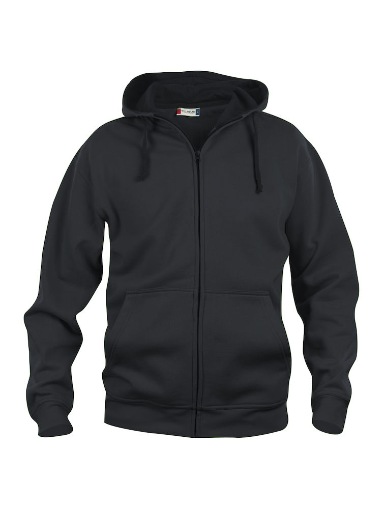 021034 Basic Hoody Full zip i 99-Sort