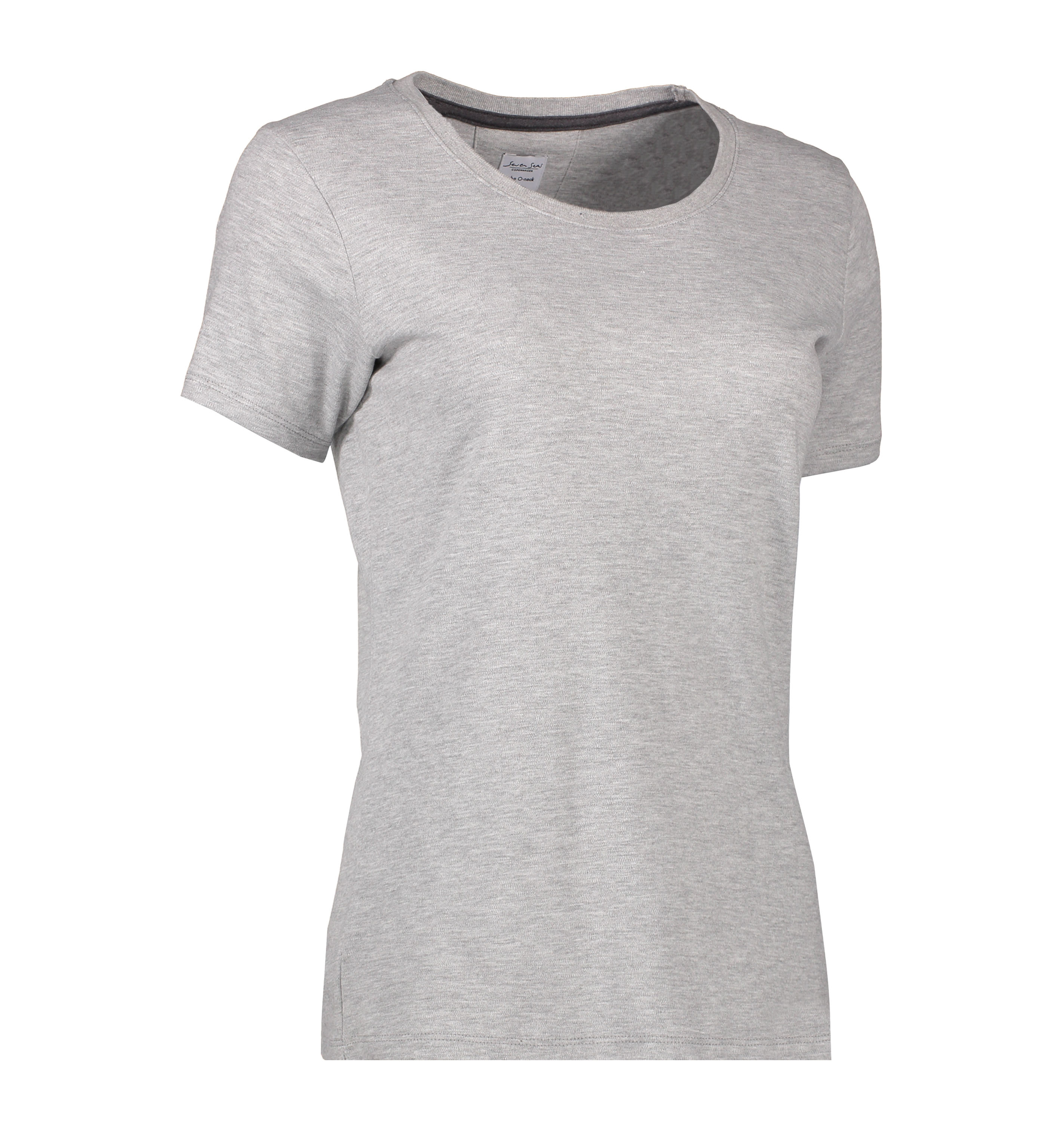 S630 The O-Neck | Ladies' i Lys grå melange