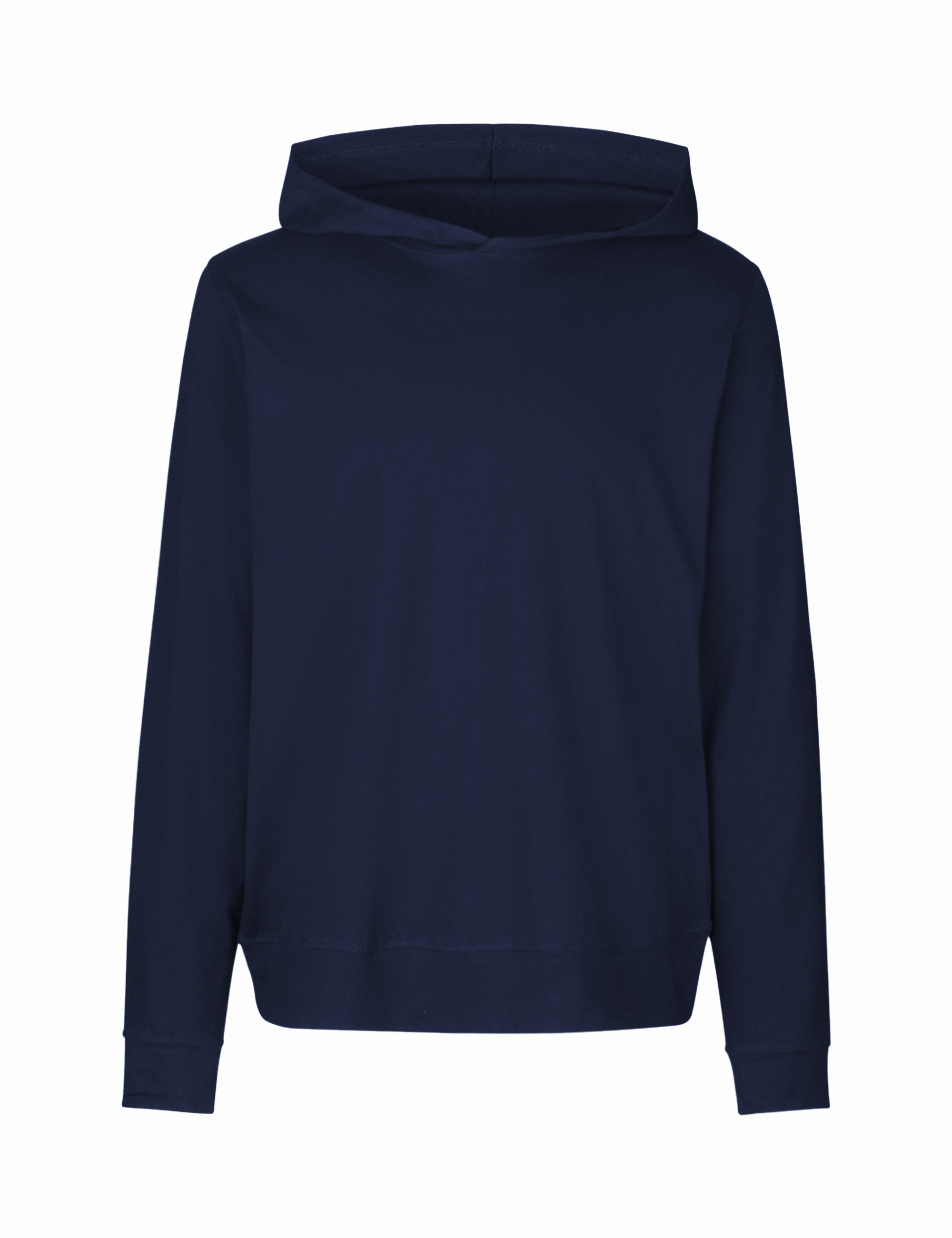 O62101 Unisex Jersey Hoodie i Navy