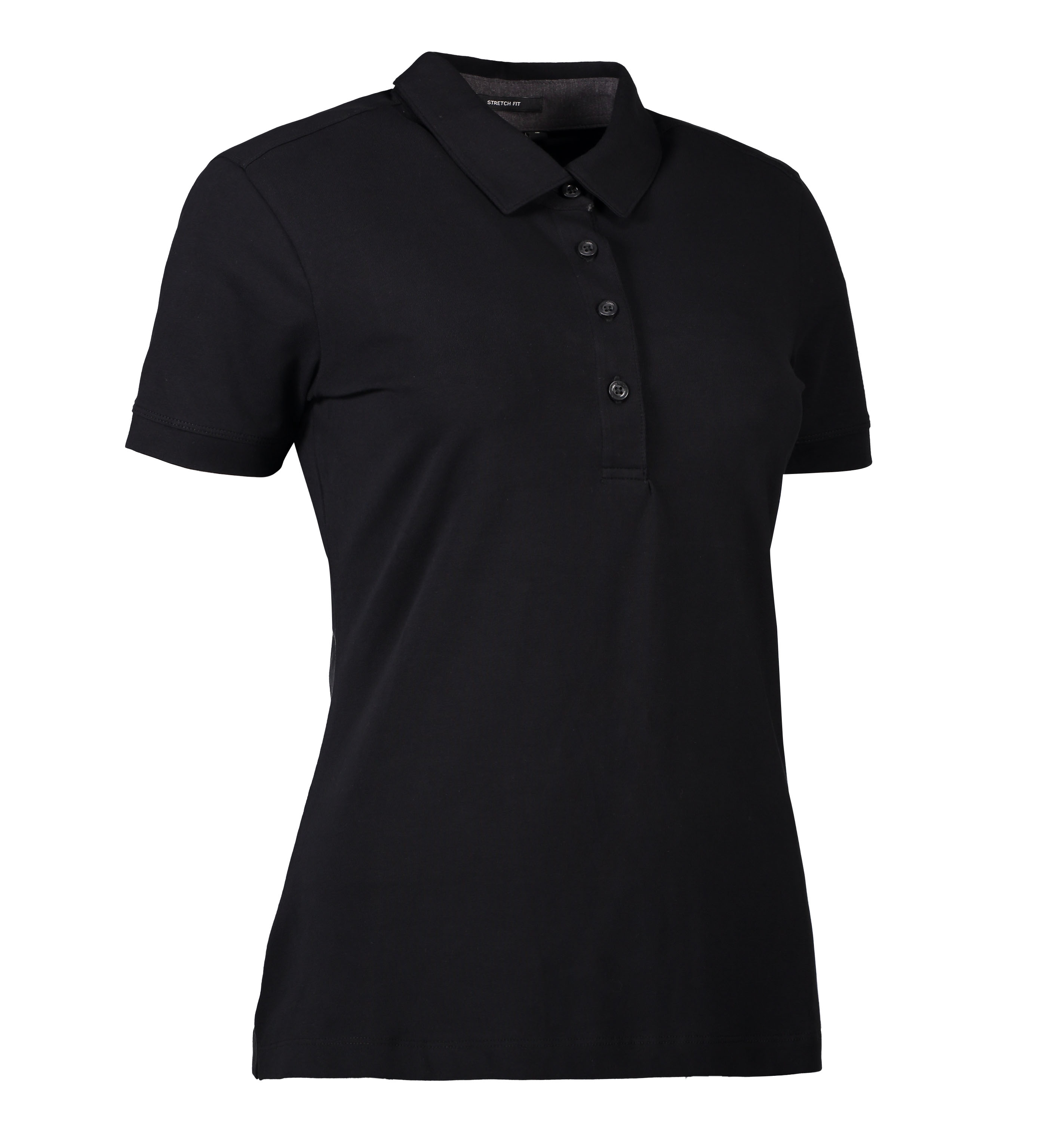 0535 Business dame polo | stretch i Sort