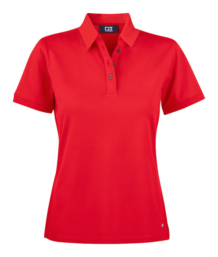 354427 Oceanside Polo Ladies i 35-Red