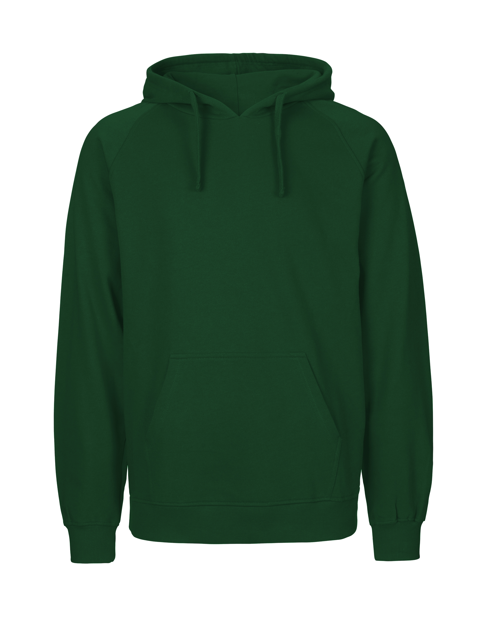 O63101 Mens Hoodie i Bottle Green
