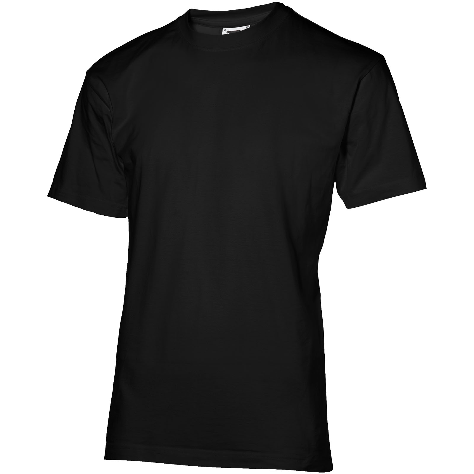33S06 Return Ace kortærmet unisex t-shirt i Ensfarvet sort